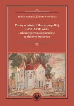 Pożary w miastach Rzeczypospolitej w XVI-XVIII w.