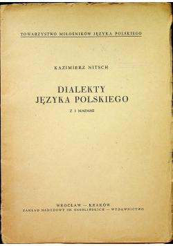 Dialekty języka polskiego z 3 mapami
