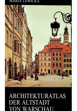 Architekturatlas der altstadt von Warschau