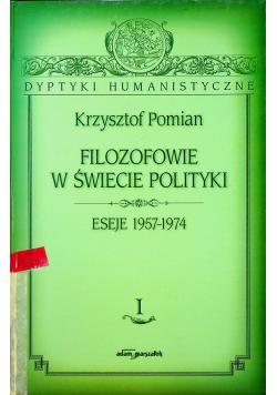 Filozofowie w świecie polityki