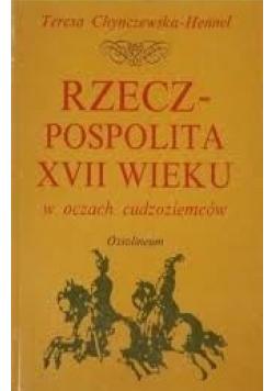 Rzeczpospolita XVII wieku w oczach cudzoziemców