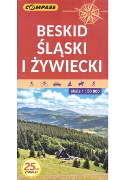 Mapa tur. - Beskid Śląski i Żywiecki 1:50 000