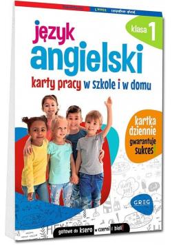 Język angielski SP 1 Karty pracy w szkole i w domu