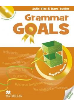 Grammar Goals 3 Książka ucznia + CD-Rom MACMILLAN