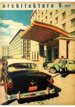 Architektura 8 1959