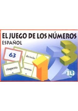 El juego de los numeros Espaniol Nowa