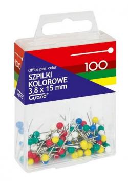 Szpilki kolorowe 3,8x15mm GRAND