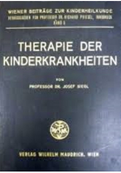 Therapie der Kinderkrankheiten
