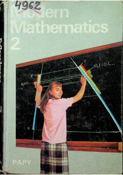 Modern Mathematics 2