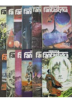Miesięcznik fantastyka 12 numerów