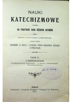 Nauki Katechizmowe  1910 r