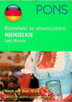 Rozmówki ze słowniczkiem niemieckie MINIATURKA
