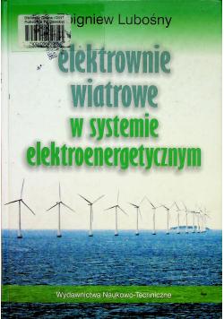 Elektrownie wiatrowe w systemie elektroenergetycznym