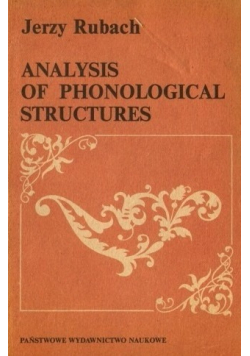 Analysis of phonological structures + AUTOGRAF Rubach