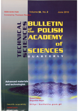Bulletin of the polish academy of sciences volume 58 no 2