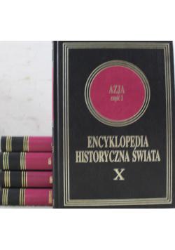 Encyklopedia Historyczna Świata 5 tomów