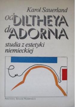 Od Diltheya do Adorna