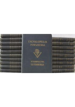 Wielka ilustrowana encyklopedia powszechna Wydawnictwa Gutenberga tomy od 1 do 20  ok 1930 r