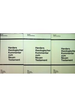 Herders theologischer Kommentar zum Neuen Testament Tom I do III