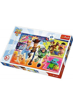 Puzzle 24 maxi Toy Story W pogoni za przygodą TREF