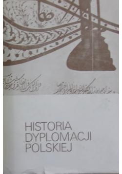 Historia Dyplomacji Polskiej  Tom II