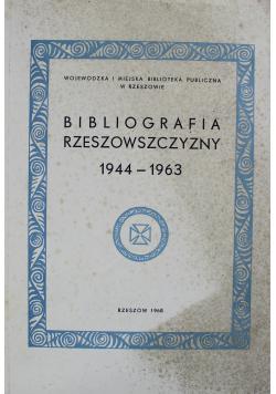 Bibliografia Rzeszowszczyzny 1944 do 1963