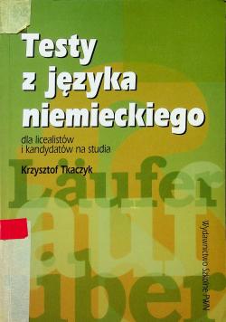 Testy z języka niemieckiego