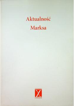 Aktualność Marksa