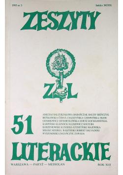 Zeszyty literackie 51