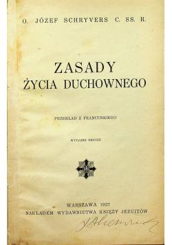 Zasady życia duchownego 1937 r.