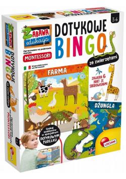 Montessori + Dotykowe bingo ze zwierzętami