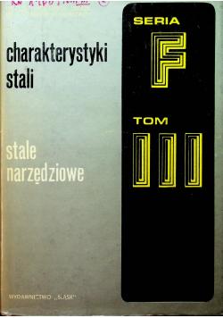 Stale narzędziowe F Tom III