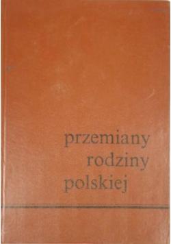 Przemiany rodziny polskiej