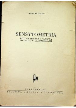Sensytometria fotograficzna materiałów czarno białych