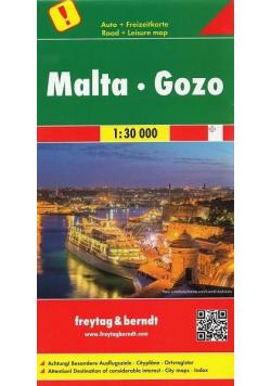 Mapa samochodowa - Malta Gozo 1:30 000