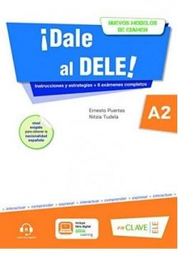 Dale al DELE A2 książka + wersja cyfrowa + online