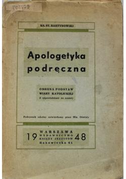 Apologetyka podręczna 1948 r