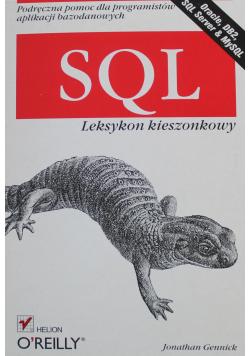 SQL Leksykon kieszonkowy