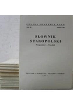 Słownik Staropolski 20 zeszytów