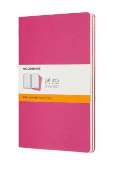 Zestaw 3 zeszytów Cahier Journals 13x21 gładki
