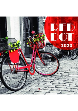 Kalendarz 2020 ścienny kwadrat Red Dot