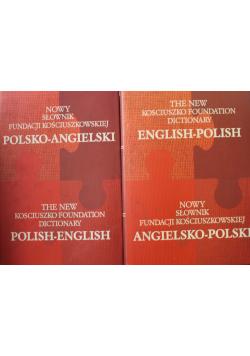 Nowy słownik Fundacji Kościuszkowskiej 2 książki