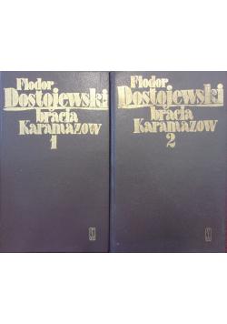 Bracia Karamazow tom 1 i 2