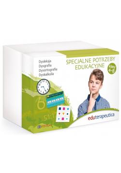 Eduterapeutica. Specjalne potrzeby edukacyjne 4-8