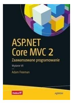 ASP NET Core MVC 2  Zaawansowane programowanie