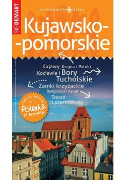 Polska Niezwykła. Kujawsko-pomorskie przew.+atlas