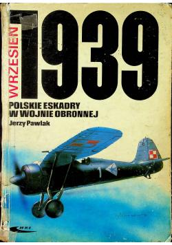 Wrzesień 1939 polskie eskadry w wojnie obronnej
