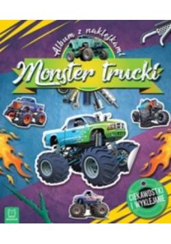 Monster Trucki. Album z naklejkami