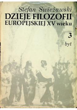 Dzieje filozofii europejskiej XV wieku Tom 3