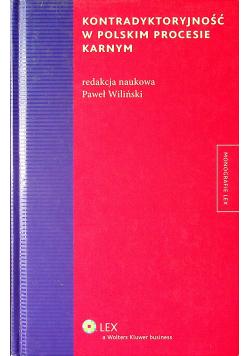 Kontradyktoryjność w polskim procesie karnym